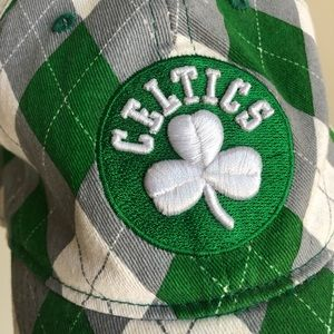 Boston Celtics '47 Plaid Hat